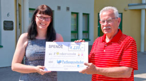 Parthengezwitscher spendet 1200 €