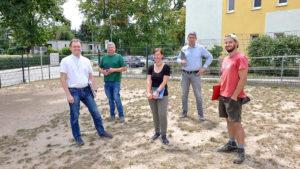 "Endspurt Projekt ""Grünes Klassenzimmer"""