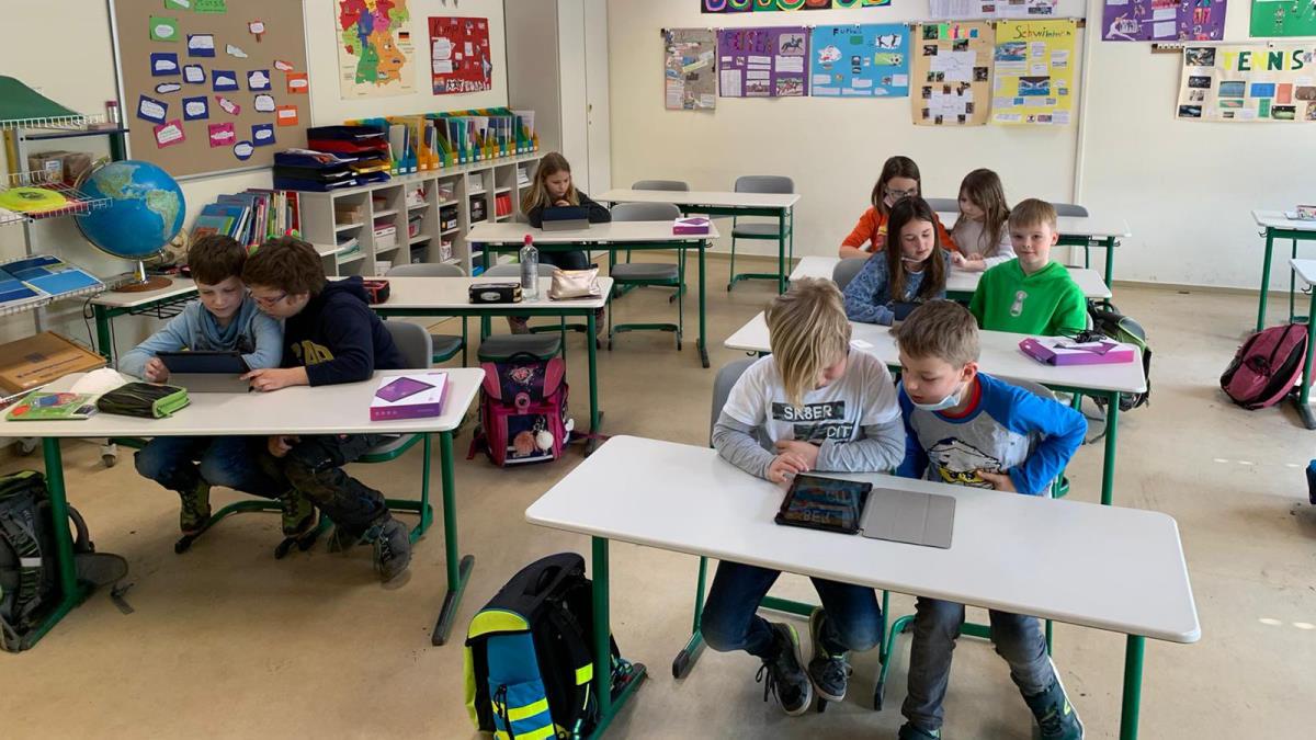 Read more about the article Fünf neue Tablets für den Förderunterricht